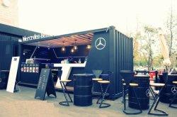유럽 호화스러운 선적 컨테이너 집 이동할 수 있는 대중음식점 또는 음식 바 또는 다방