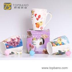 Китай День Рождения красивых 400 мл присутствует для приготовления чая и кофе керамика кружки большого гончарного дела чашке