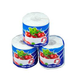 Fabricant OEM de Papier Toilette Toilette Le papier hygiénique 3 plis Matériau 100 % de pâte à papier vierge