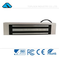 Sistema de Segurança electromagnética magnético 180kg 360lbs bloqueador eléctrico RoHS de alumínio