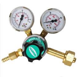 O2 AR N2 He CO2 H2 AC LPG 실린더 가스 압력계가 있는 조절기 해리스 유형 모델 801-10 0 - 200psi 0 - 16bar 0-4000psi 0-300bar W23-14 W22-14 M12 * 1.0 M16 * 1.5