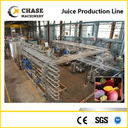 La Pulpe de Mangue/Ananas Bananes/Orange/Kiwi/citron Vetegable la production de concentré de jus de fruits boisson de la machine de traitement/la production de jus de faire machine de remplissage
