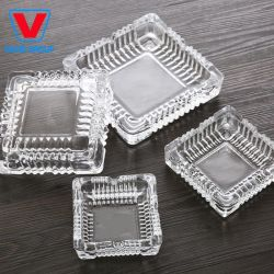 Groothandel High Quality Clear Glass Ashtray Crystal Ashtray