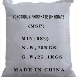 Industrieller Grad-Mononatrium- Phosphat verwendet als Antibodenverseuchungsagens für lebende Sachen
