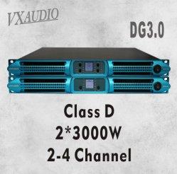 2*3000W 1u Class D PRO Amplificador Digital amplificador de potência (DG3.0)