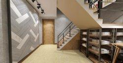 В полной мере полированным Glossyfinish желтого цвета фарфора пол и стены для строительного материала 800X800мм