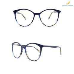 Nouvelle conception de la forme de l'Oeil de Lady Fashion Style monter toute occasion acétate Lunettes optiques