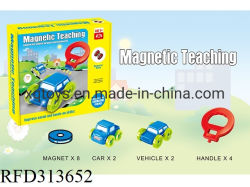 La nueva educación preescolar enseñanza magnético coche