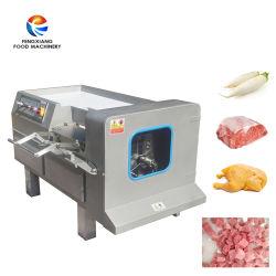 さいの目に切られた肉打抜き機を処理する凍結する肉製品