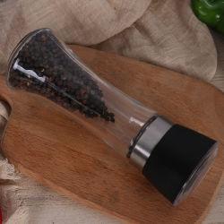 Una buena calidad sal pimienta Shaker con la fresa Cap