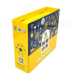 ブラウンオリジナル製品紙包装媒体普通花カスタマイズ Ecomerce 5 層大型カラー水カートンボックスを納品します