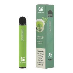 さまざまな種類の 500puffs 卸売品 2% 5% ソルト NIC フラッシュ LED 使い捨て可能な電子タバコの吸殻ペンは CE 認証を受けています