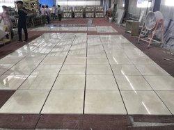 Alta calidad de Crema Marfil Pulido azulejos de mármol beige para revestimiento de pared