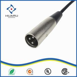 Mann/Weibchen3 Pin-XLR AudioLvds Kabel Mikrofonbuchsemic-
