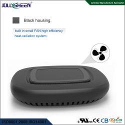 Caixa preta do carregador sem fio, a Samsung Carregador sem fio, sem ventoinha integrada Qi Carregador, compatível com Carregador Sem Fio iPhone 5W, 7,5W, 10W