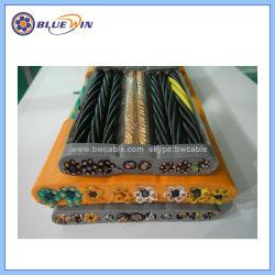 Низкое напряжение на кран элеватора соломы гибкий плоский кабель к холодной электрический кабель гибкий кабель для крана