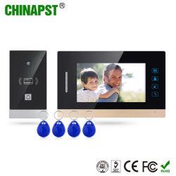 最も熱いCat5e/CAT6ハンズフリーカラー別荘の接触キー(PST-VD07H-ID)のビデオドアの電話