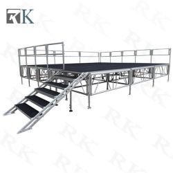 Stade de l'extérieur de la Chine en aluminium portable
