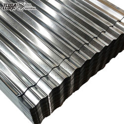 0,23 mm recubierto de PVC de color/PVDF/PE/HDP Prepainted Gi Impermeabilización de cubiertas de hojas de acero galvanizado corrugado