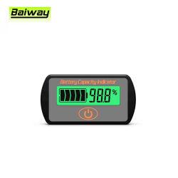 Bw-Ly7s Digital LCD 3s 12V 24V 36V 48V saures Leitungskabel-Lithium-Batterie-Testgerät-Spannungs-Kapazitäts-Anzeiger-Messinstrument-Prüfvorrichtung