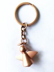 装飾の天使の金属のキーホルダーの天使の吊り下げ式の翼のヨーロッパの方法様式Keychain