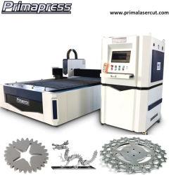 Máquina de corte tubo láser de fibra/tubo de metal de corte láser CNC / máquina de corte con certificado CE y 3 años de garantía