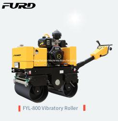 Voll hydraulisch kleine Straße Roller/800kg Hand Asphalt Roller