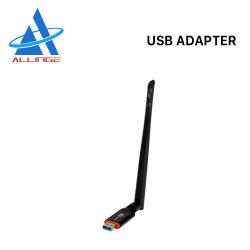 Hauptnetz-Miniadapter Lyngou LG519 1200Mbps drahtloses bewegliches WiFi Adapter USB-WiFi