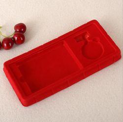 맞춤형 사이즈 빨간색 블리스터 포킹 플라스틱 화장품 포장 상자