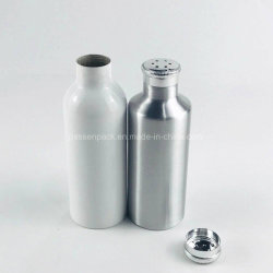 agitatori di alluminio della bottiglia o della polvere del sale del pepe 100ml