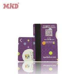 Carta magnetica sconto per membri in plastica CR80 PVC