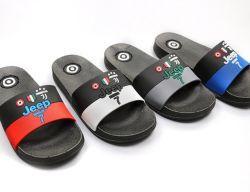 Logo d'impression fait sur mesure PVC EVA occasionnels de diapositives de ménage sandales plastique intérieur pantoufles