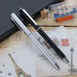 Venda por grosso de fábrica na China a acção de torção de metal fino caneta de esfera para Hotel