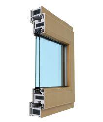 إطار إطار إطار الإطار الخارجي للنافذة البلاستيكية UPVC/PVC بطول 60 مم