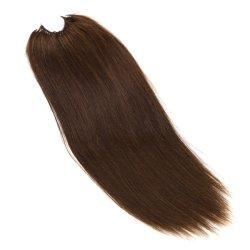 Cutícula do fio de algodão Cabelo Virgem Nós Prebonded Cabelo Extensões de cabelo