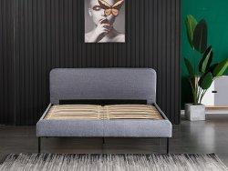 Frame van het Bed van het Leer van de Grootte van de Koning van het Meubilair van de Slaapkamer van de luxe het Moderne Dubbele