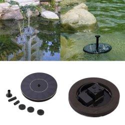 Innaffiatura della fontana largamente d'innaffiatura del giardino del kit che fa galleggiare la pompa ad acqua solare