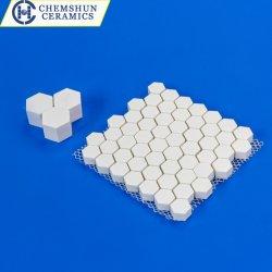 Resistente ao Desgaste Kit Mosaico Mosaico de alumina para protecção da calha