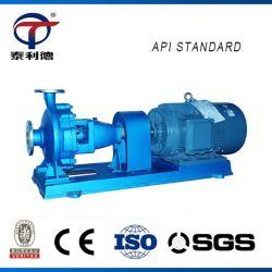 API ANSI ASTM centrifuge horizontale Acide pétrochimique chaud gaz de pétrole brut de carburant diesel produit chimique de la pompe de transfert