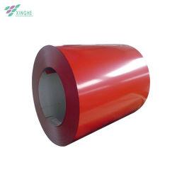 China Manufature Prepainted PPGL PPGI revestidos da bobina de aço Blue folha de metal