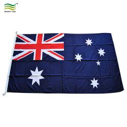 내구성이 뛰어난 우븐 스핀드 폴리에스테르 국기 호주 국기