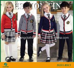 Uniforme scolastico internazionale personalizzato di alta qualità con il prezzo di fabbrica