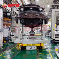 Dernière conception chariot électrique de transfert automatique sur la voie de chemin de fer