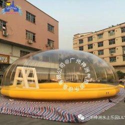 Mayorista de la fábrica de plástico transparente de color claro las bolas de océano Mar aire blanco pelotas para jugar Bola de millones de niños