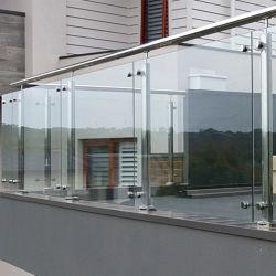 Openlucht Treden/Dek/Gang/de Balustrade van het Traliewerk van het Glas van het Roestvrij staal van het Balkon