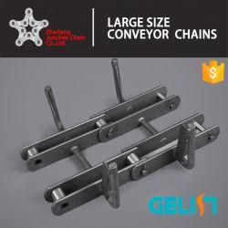 セメント企業のための産業Fuシリーズステンレス鋼のコンベヤーのローラーの鎖