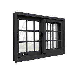 Американский стандартный с низким E двойное остекление окон и алюминиевых раздвижных окон