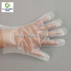 Comercio al por mayor calidad de alimentos y medicamentos estériles desechables guantes de plástico CPE de uso
