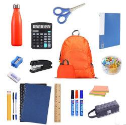 학교 요소 공급 장비 싼 학교 문구용품 장비로 다시 고품질 책가방은 놓인 학교 용품을 주문을 받아서 만들었다