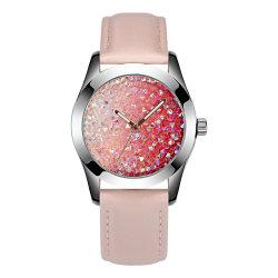 Hohe Form-Dame-Uhr Bling Kristallvorwahlknopf-Frauen-Armbanduhr-beste Geschenk-Uhren